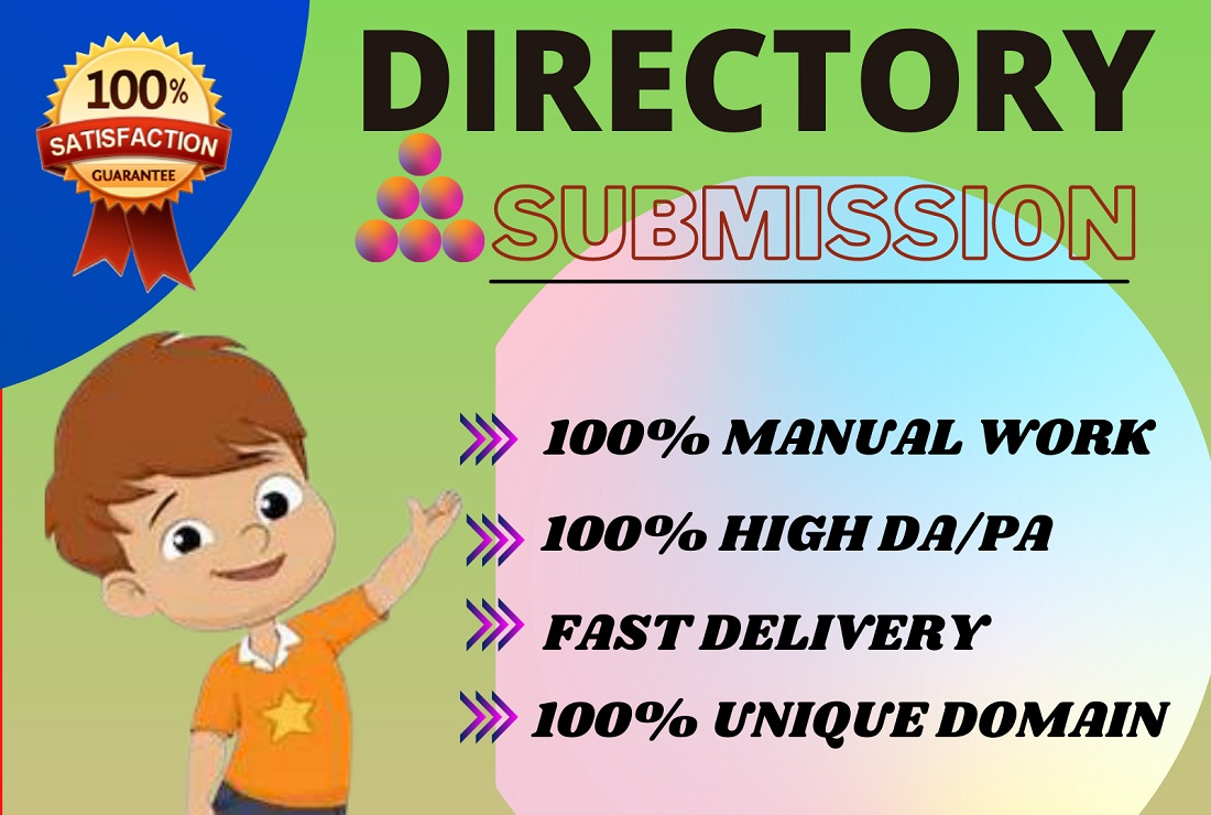 I will provide 50 Directory submission backlinks to the high DA PA journal