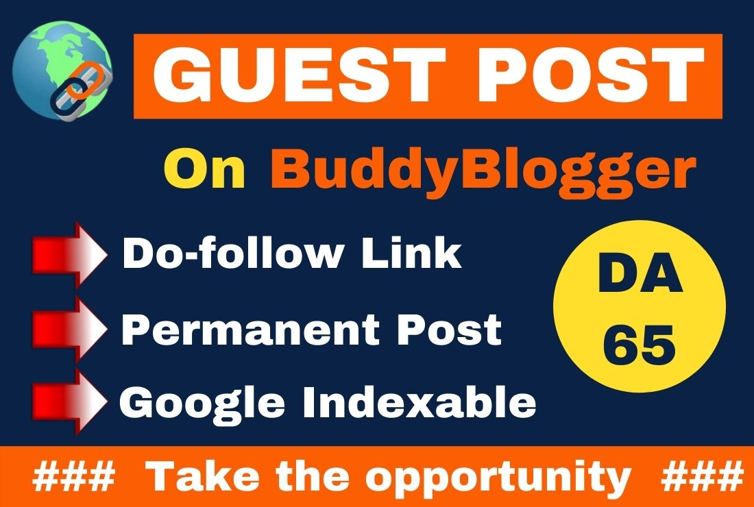 I Will Write And Publish Guest Post On buddyBlogger