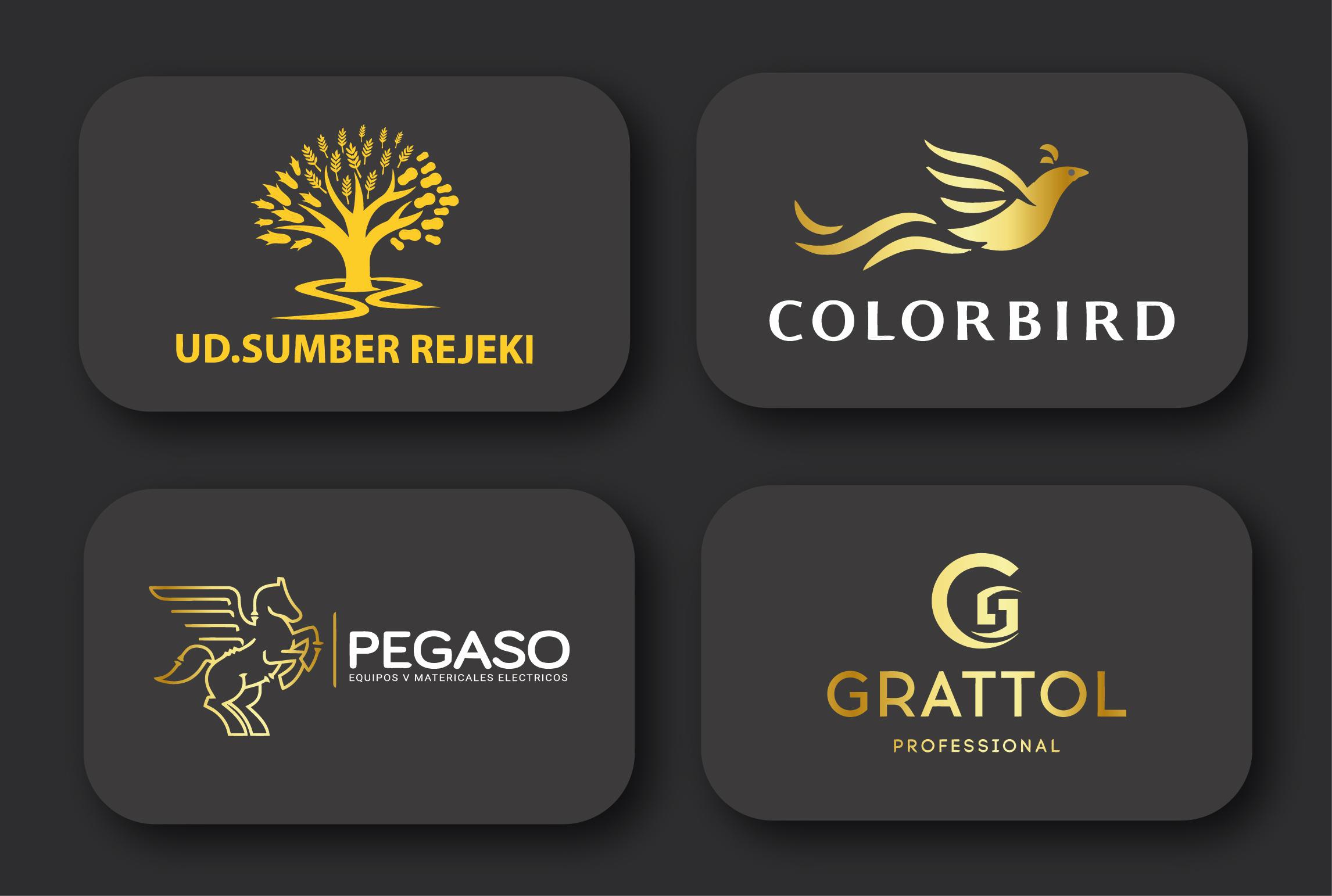 I will design attractive luxury modern flat minimalist business logo