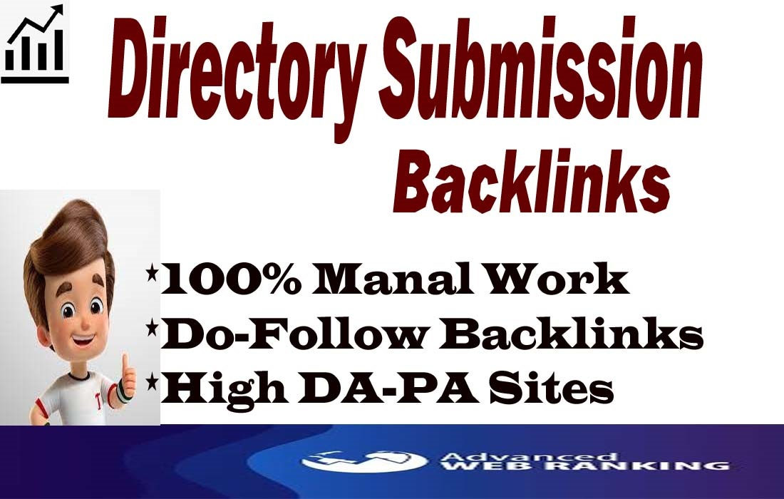 I will submit 50 directory submissions backlinks