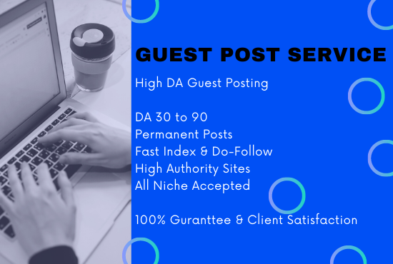 Guest Posting on High Authority Tech Sites