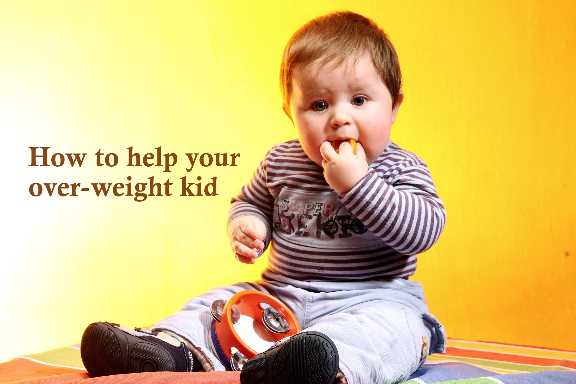 How to help your over weight child