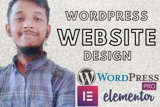 I will build you a modern WordPress website or customize it.