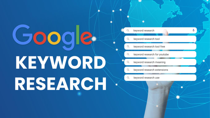 I will conduct a detailed keyword research for your website or blog