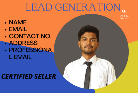 I will do lead generation for any specific leads