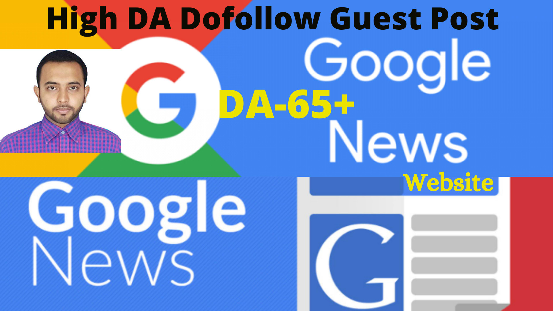 3 Google News Approved Guest Posts on DA50