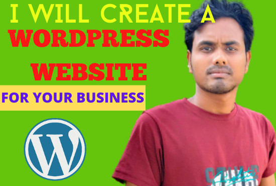 I will create a website wordpress for your business
