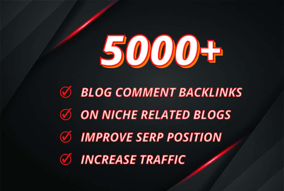 I will create 400 quality blog comments backlinks