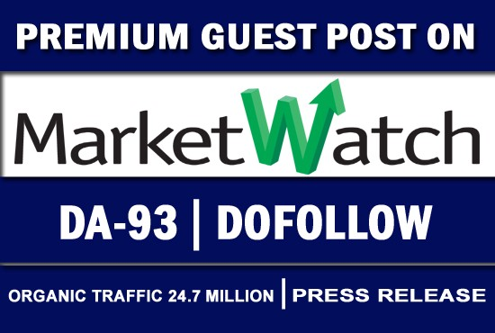 guest post marketwatch press release