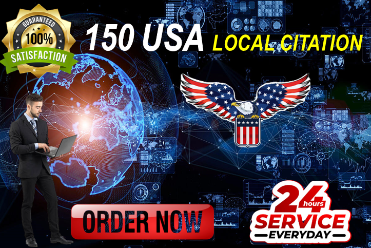 Expose your Business in MAP-3 Pack with 150 high-authority local citations and directory listings