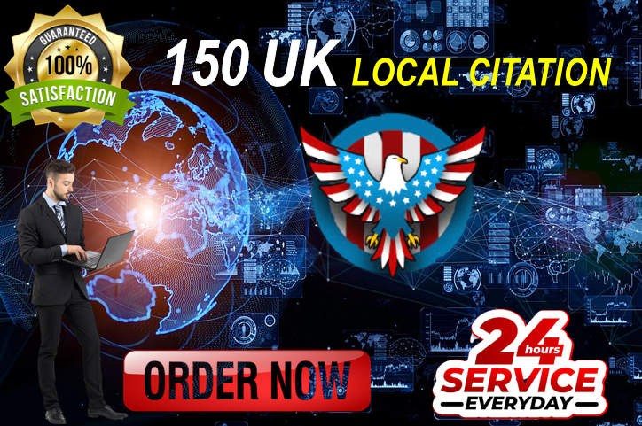 Skyrocket your Google My Business ranking with 150 high-authority UK local citations and directories