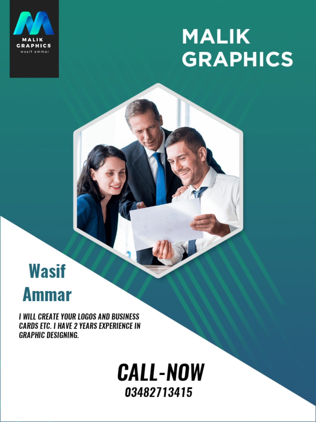 I will create your Flyers, Bennets, Posters