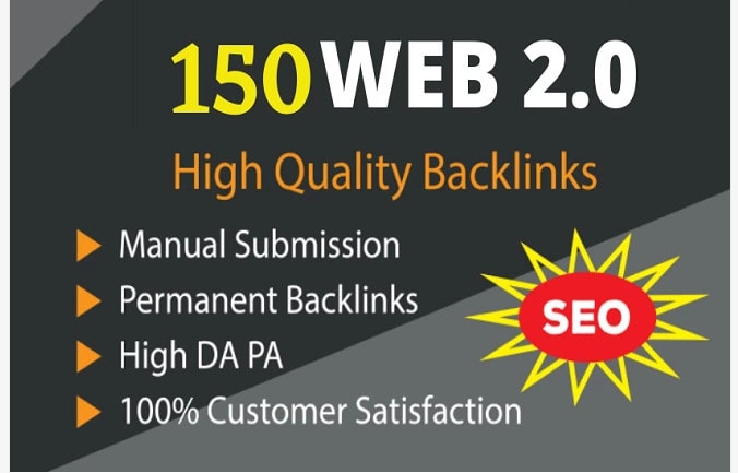 I will create manually supper web 2. 0 backlinks