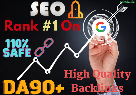 Boost Your Website On Google with DA90+ 60 HQ Authority Manual Backlinks