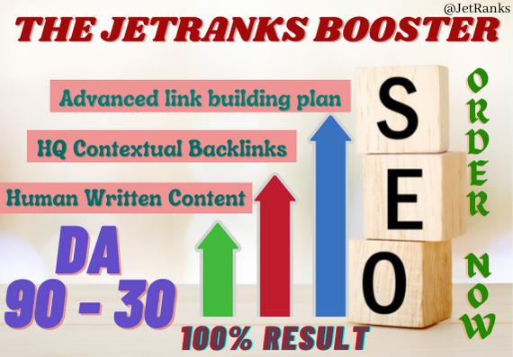 Get 18 Quality Contextual Backlinks On DA30 to DA40 Domains via Manual Link Building Service