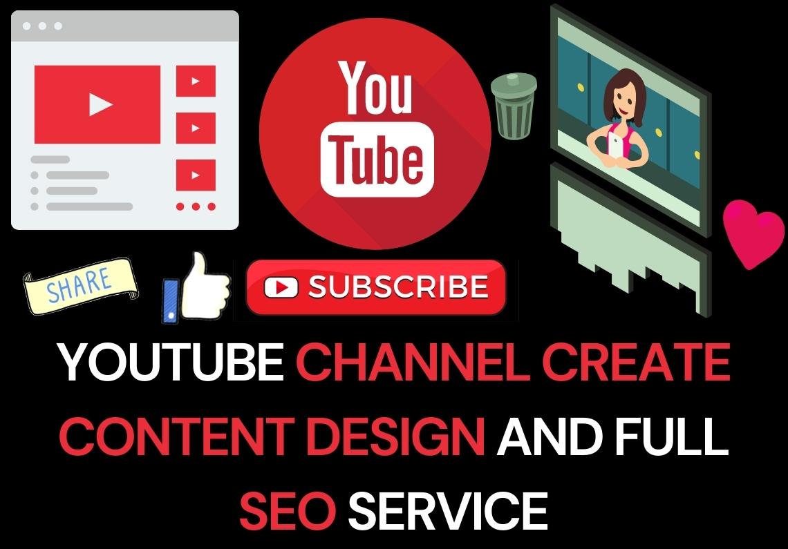 Channel Create, Content Design and Full SEO Service