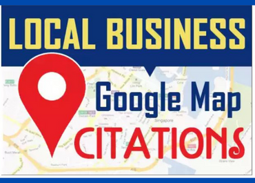 I will do local listings with 50 google map citations