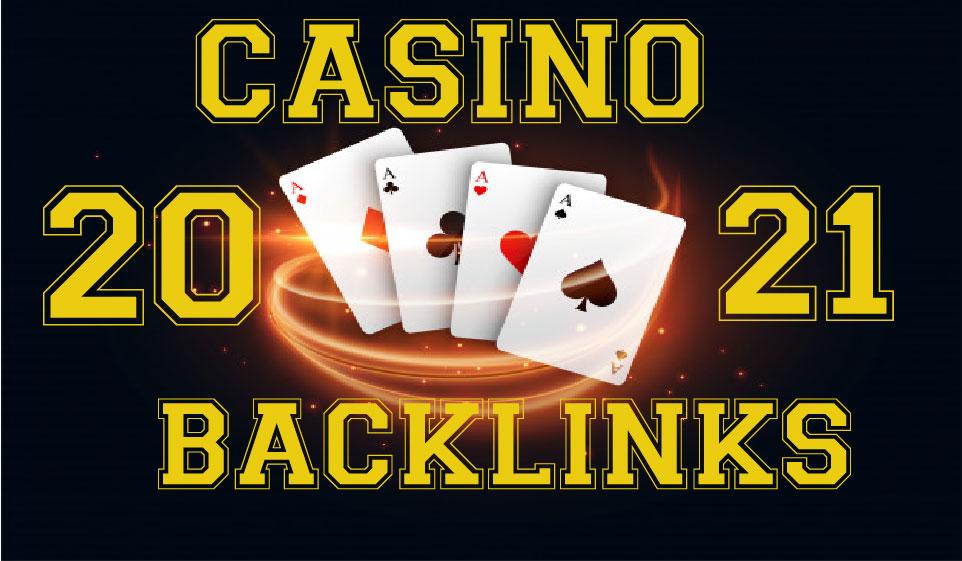 I will provide 30 DA 70+ High Quality CASINO,  GAMBLING,  POKER Related PBN Backlinks