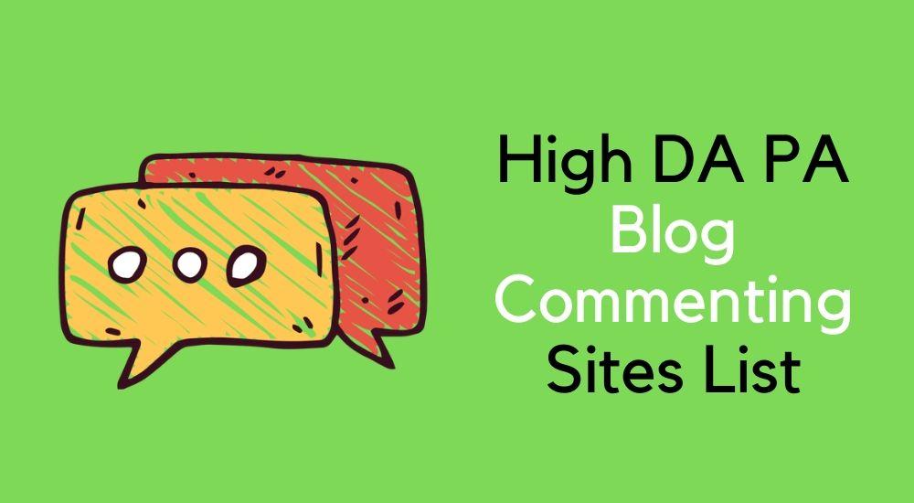 100 high quality backlinks high da pa blog commenting