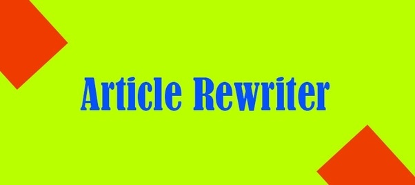Best,  Fastest,  Accurate,  Quality,  Good Priced Article Rewriter