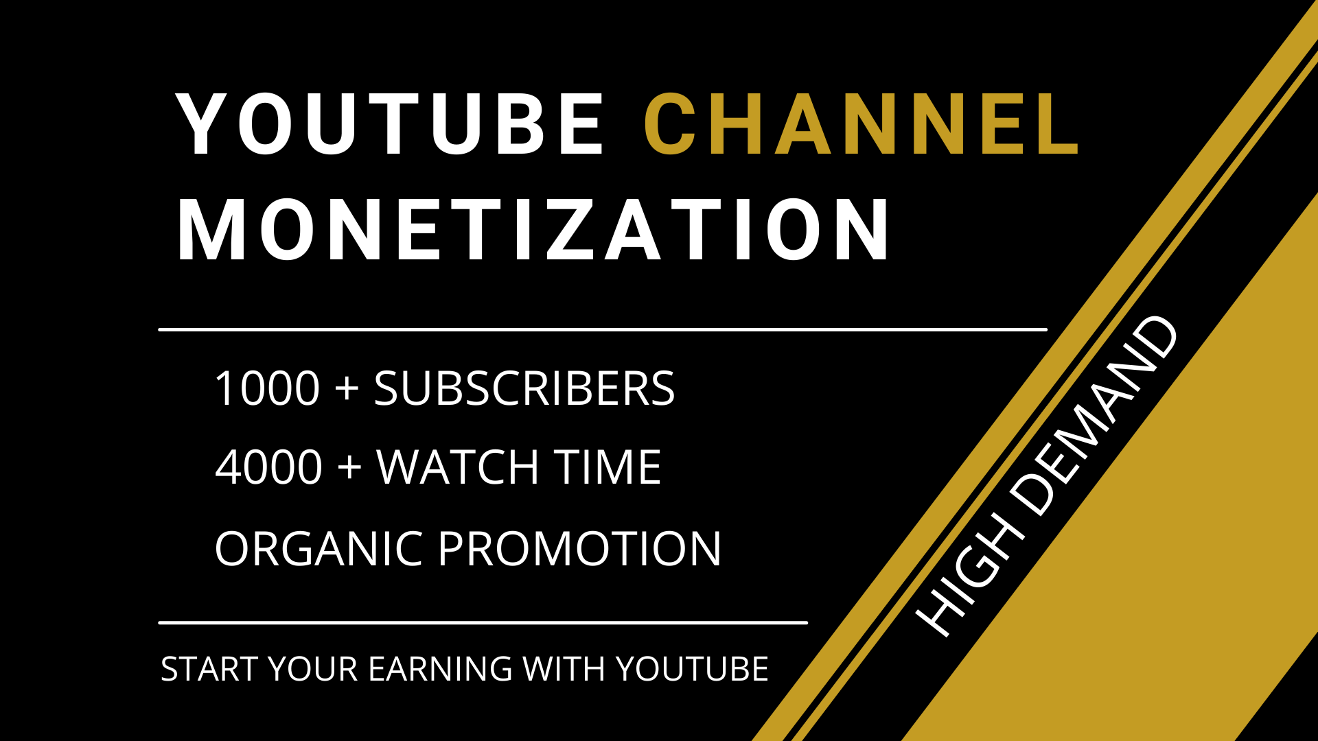 Best and organic YouTube video promotion with safe and real audience
