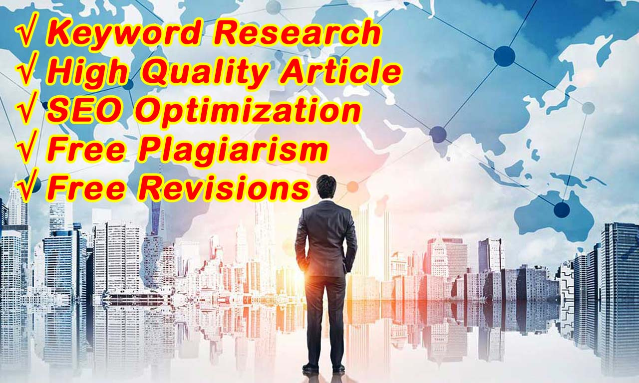 I Will Write High Quality SEO Articles and Web Content