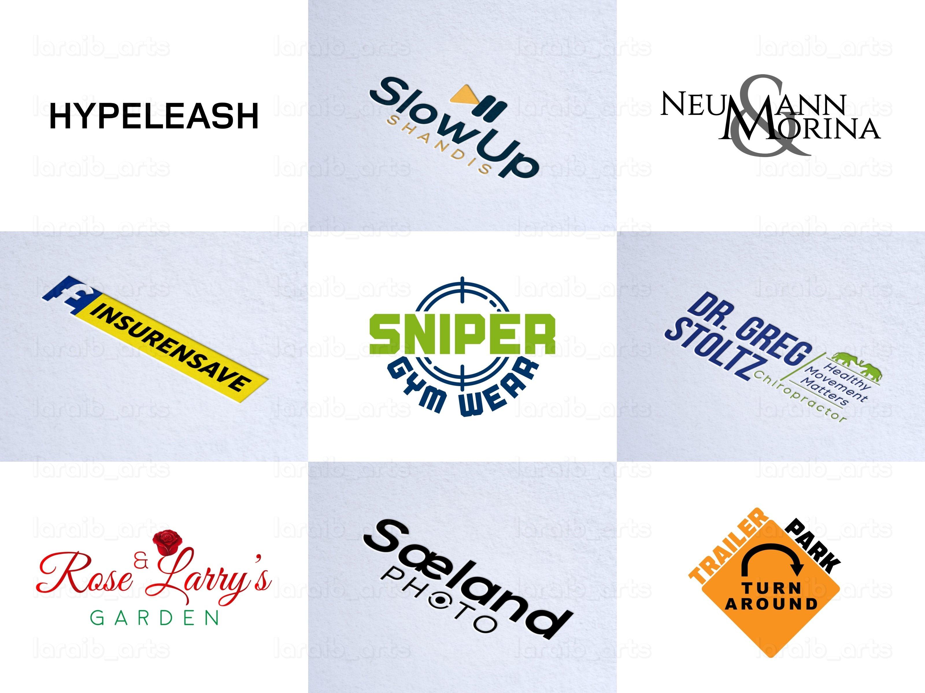 I will do 5 unique logo ideas for food,  restaurant,  café,  bakery,  and coffee shop business