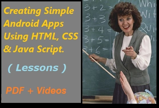 I sell Creating simple android apps self study pack