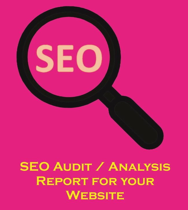 SEO audit analysis report for your website