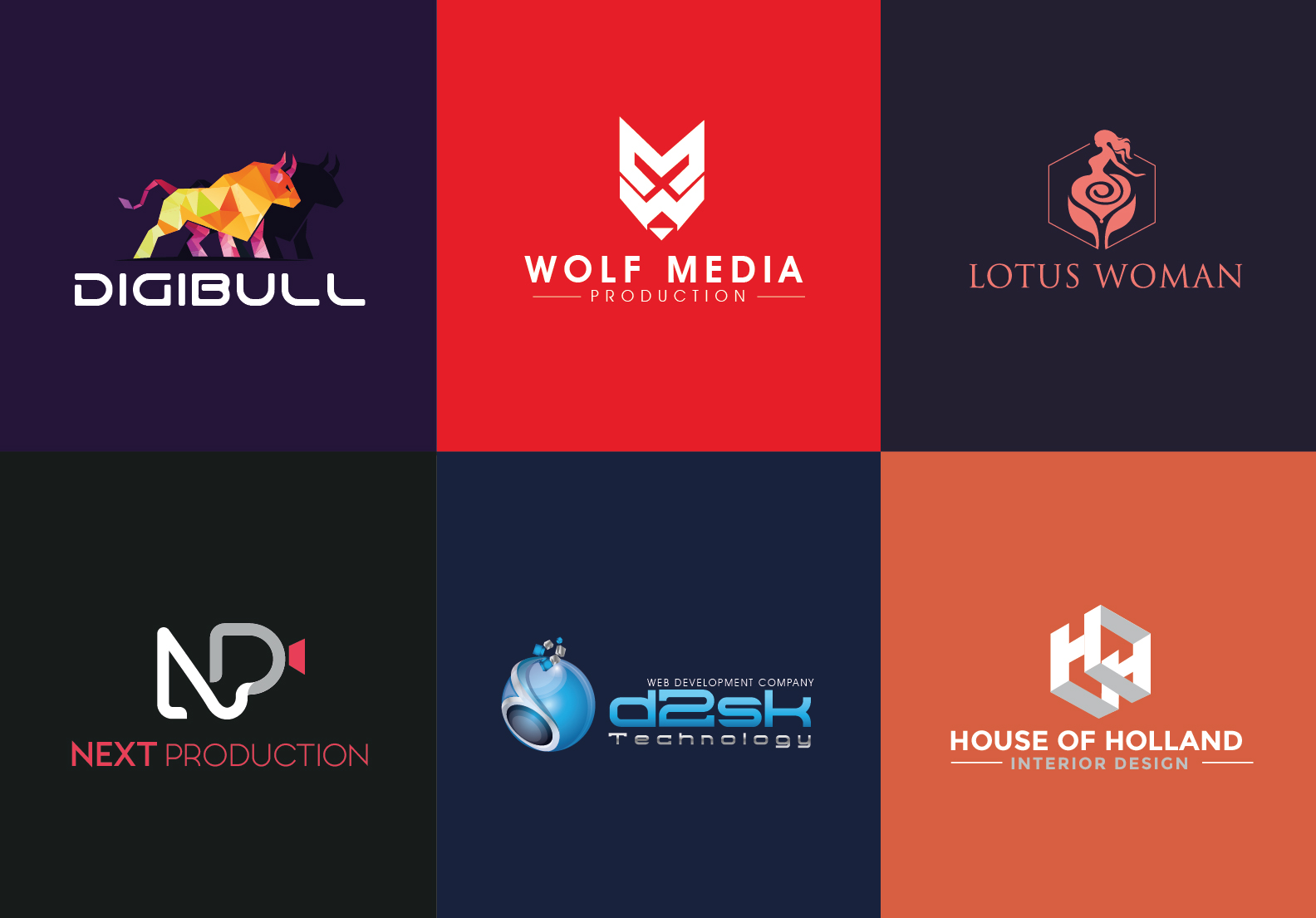 I will Create 2 Modern Vector logo design concepts with Unlimited Revisions