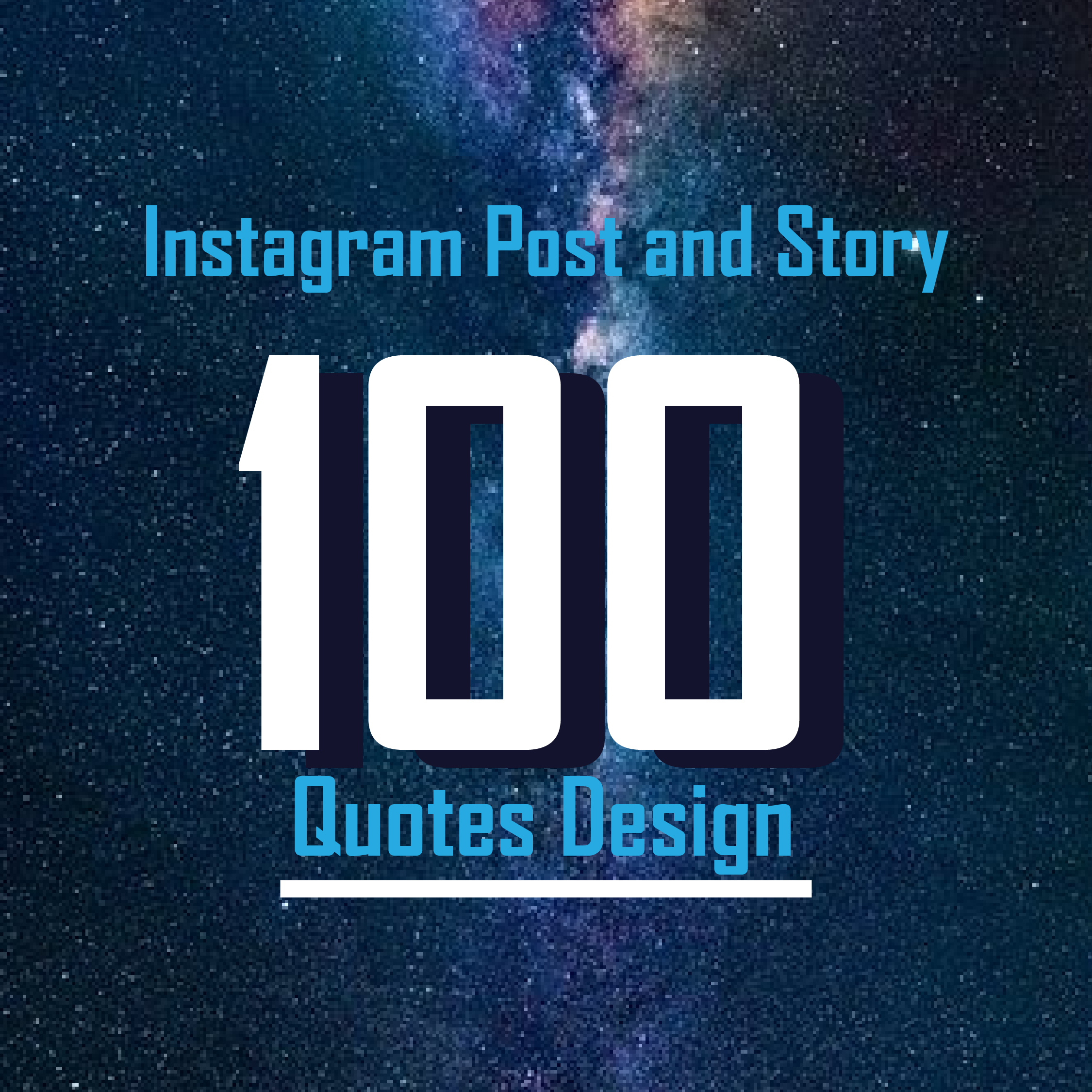 I will design quotes related social post and story