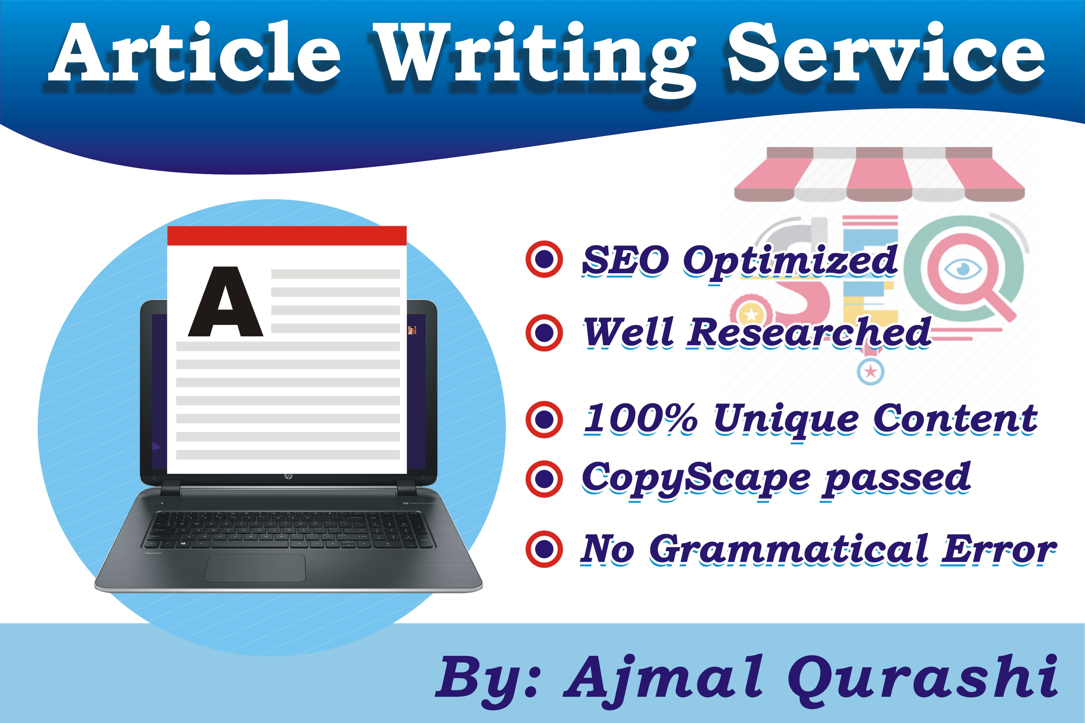 High Quality 100 anti Plagiarisme SEO Article Words