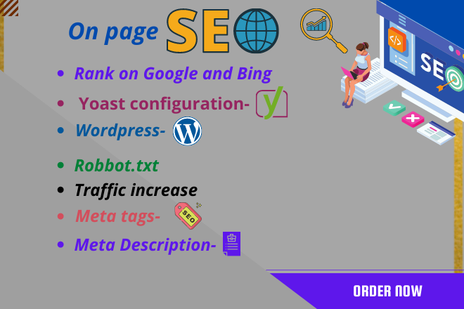 I wiil complete SEO for website and rank on Google and Bing search console