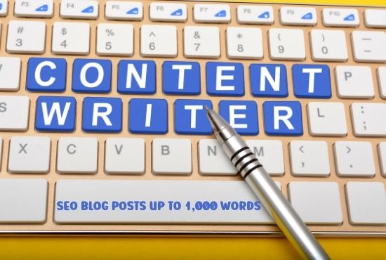 I will write a high-quality SEO Optimized Article or blog post for your website