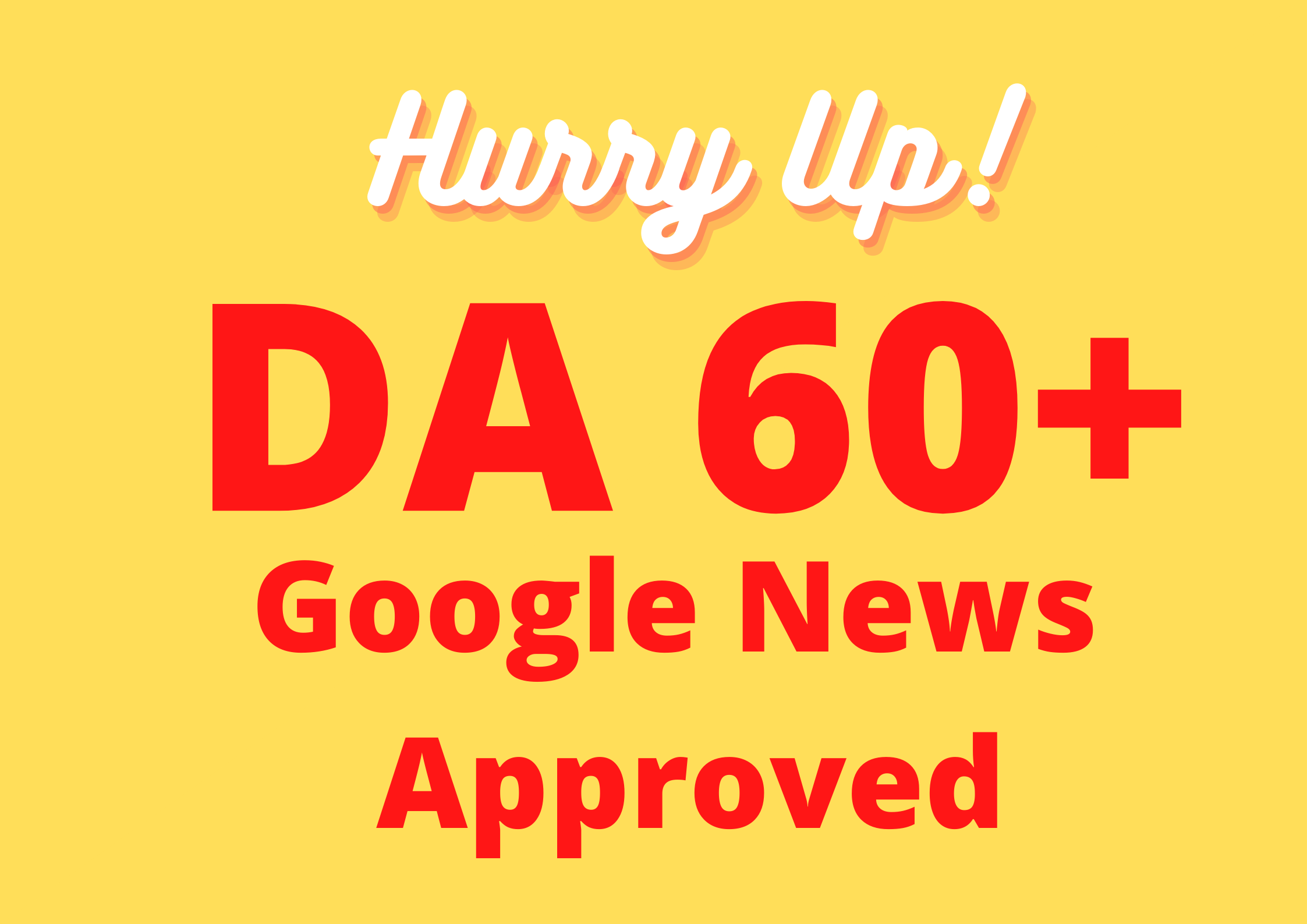 Guest post on Google News Approved DA 60+ High-quality Content Website