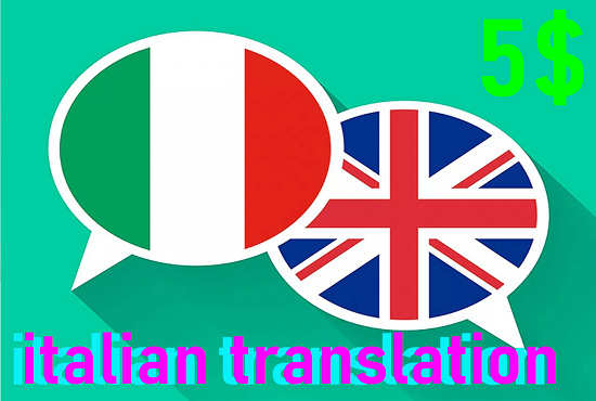 I will translate your text and works Italian,  English,  French adn German