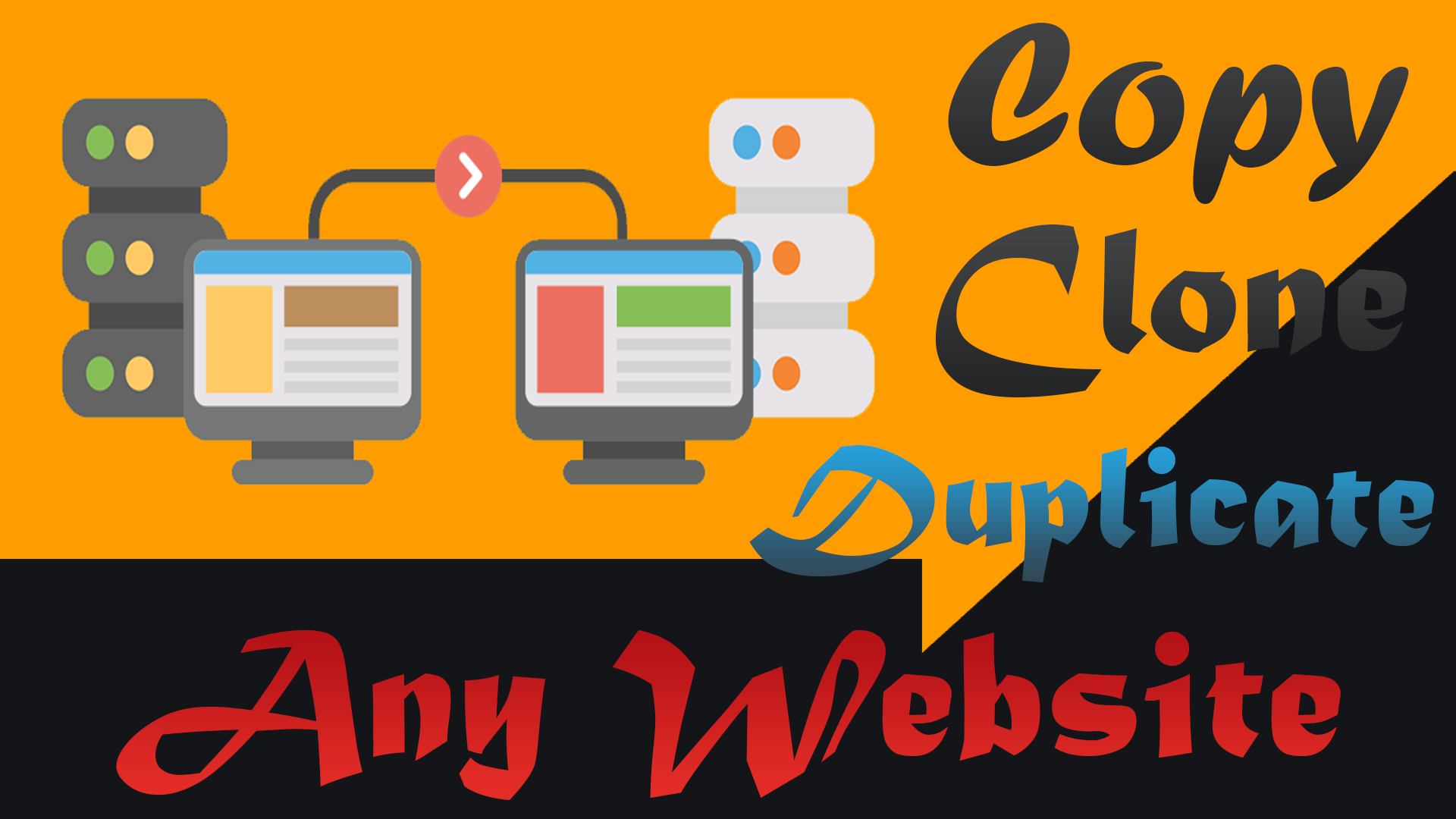 Backup,  copy,  clone,  duplicate or migrate any wordpress website