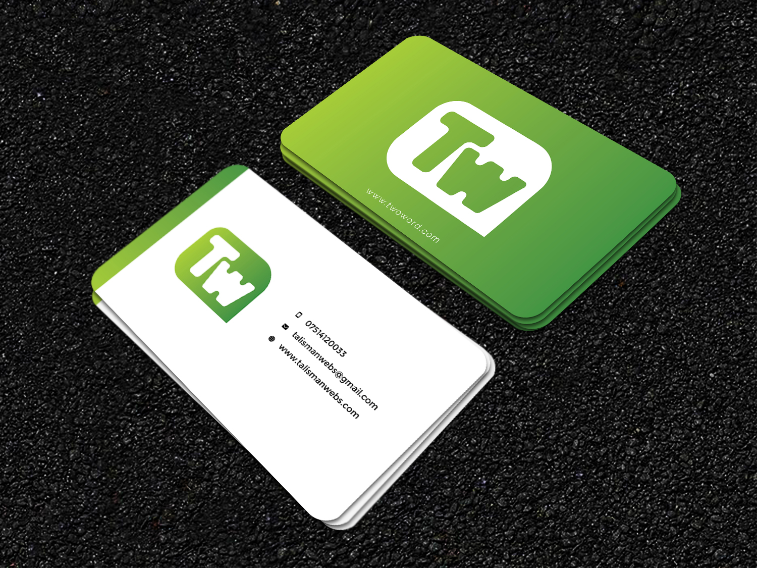 I will create simple,  clean and minimal business card design