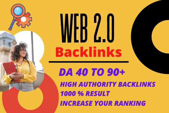 I will build web 2.0 backlinks manually