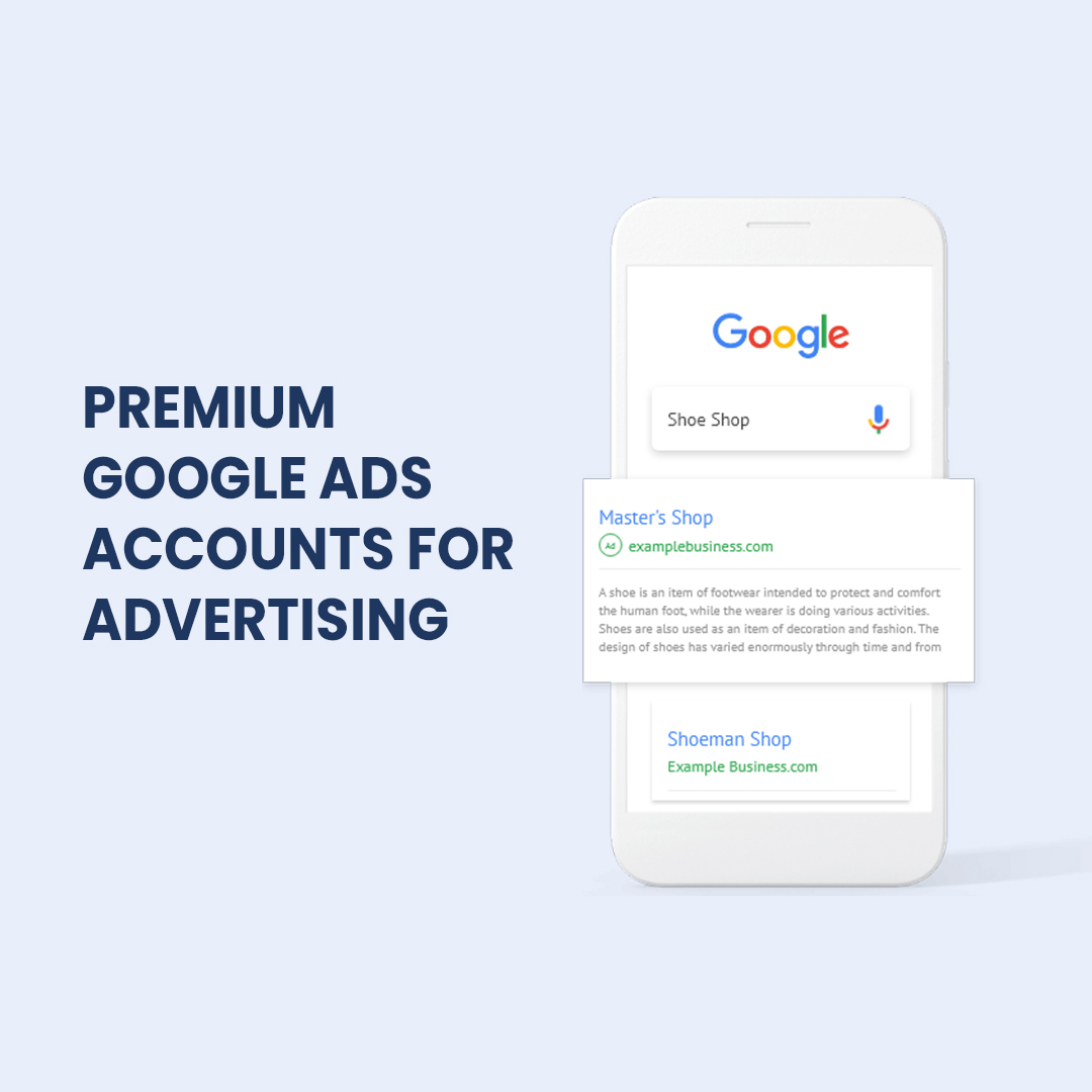 Create a Google Ads account for your ads