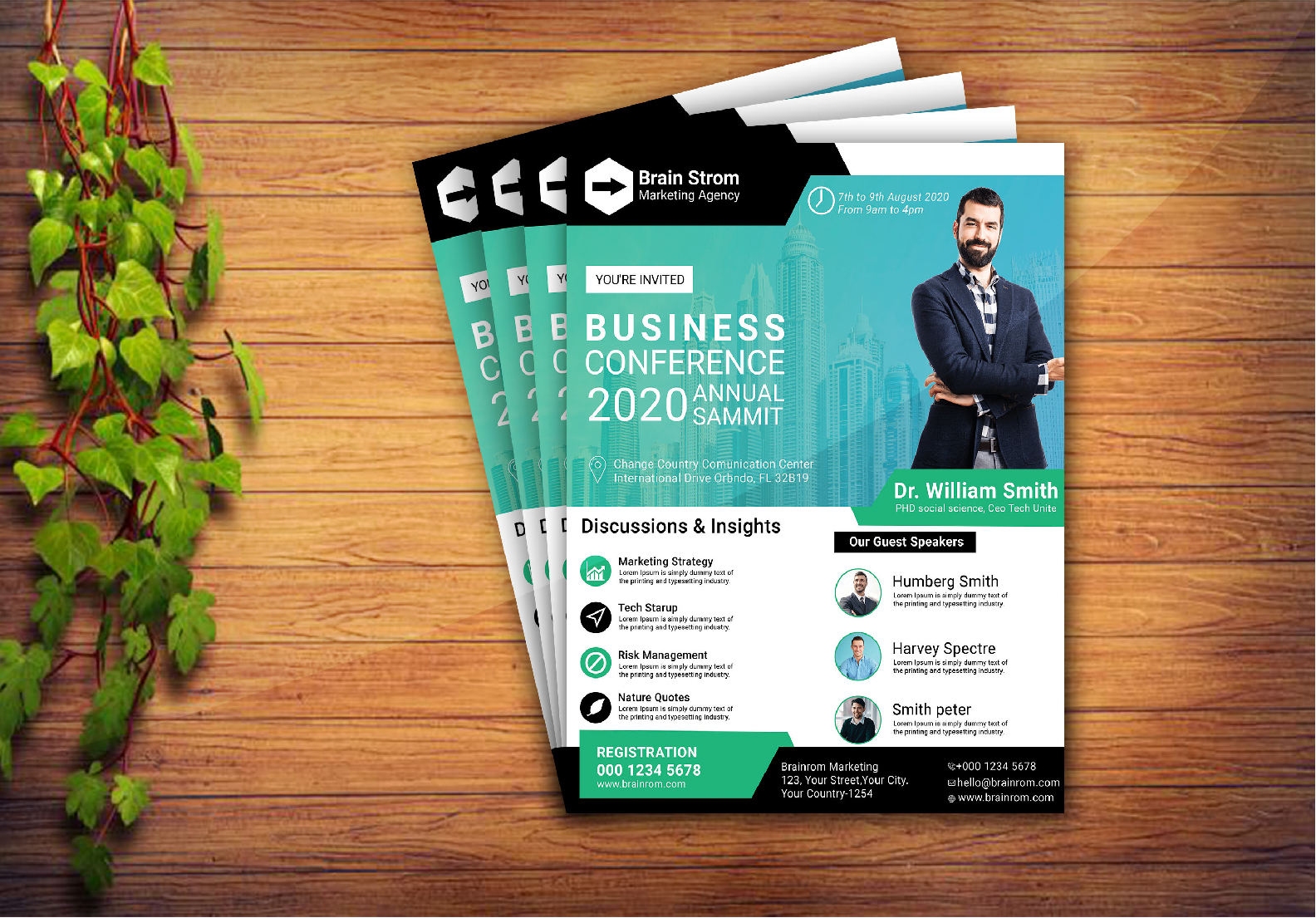 I will design professional eye catching party/event, business flyer poster design