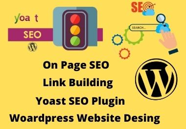 SEO on page optimization and technical onpage of your website.