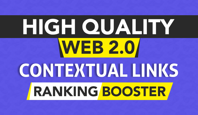 200 web 2.0 DA 30+ skyrocket ranking by authority contextual backlinks