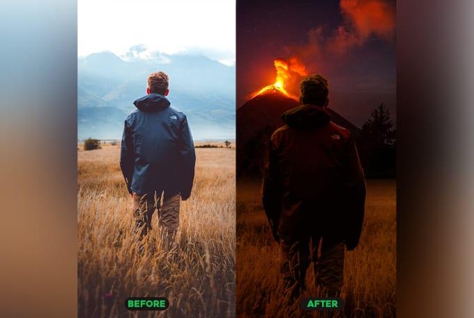 I will do adobe photoshop editing and retouching