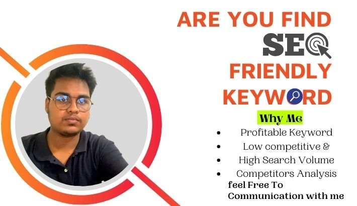 SEO friendly Keyword Research & Competitor Analysis