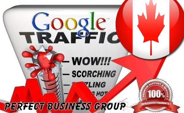 send 1000 visitors via Google. ca by Keyword to your website