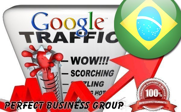 Organic traffic from Google. com. br Brazil with your Keyword
