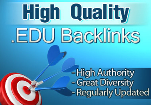 manually create 15 powerful backlinks from edu domains that will boost your serp