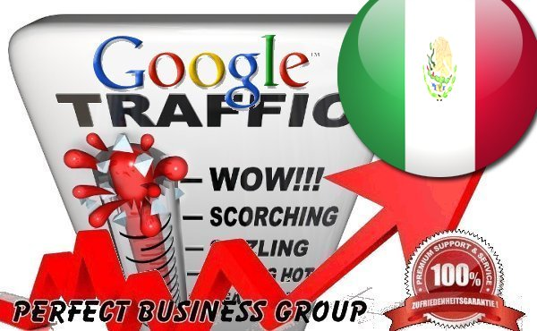 I send 1000 visitors via Google. com. mx by Keyword to your website