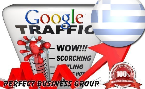 Organic traffic from Google. gr Greece with your Keyword